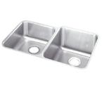Elkay 31x20 Undermount Double Bowl Sink ELUH3120L