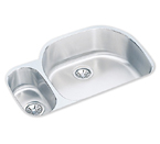 Elkay 32x21x10 Undermount Double Bowl Sink ELUH322110L