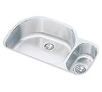 Elkay 32x21x10 Undermount Double Bowl Sink ELUH322110R