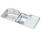 Elkay 42x21 Undermount Double Bowl Sink ELUH4221L