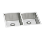 ELKAY Avado Dbl Bowl Offset Sink S Steel EFRU312010R