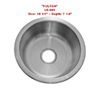 Leonet Fulton LE-905 Single Bowl Stainless Steel Kitchen Sink