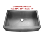 Homeplace Marshall Single Bowl Stainless Steel Sink