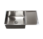 "36"" Stainless Steel Undermount Kitchen Sink W/ Drain Board TZ3619CFS"
