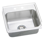 Elkay Pacemaker 19x18 2 Hole Single Bowl Sink PSR19182