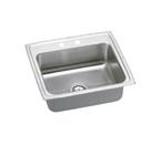 Elkay Pacemaker 25x22 2 Hole Single Bowl Sink PSR25222