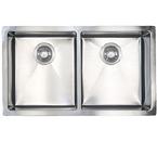 Sonetto S1063U 1000 Series Zero Radius Undermount Double Bowl Stainless Steel Sink