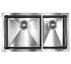 Sonetto S1083U 1000 Series Zero Radius Undermount Double Bowl Stainless Steel Sink
