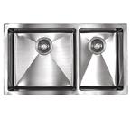 Sonetto S1083U 1000 Series Zero Radius Undermount Double Bowl Stainless Steel Sink