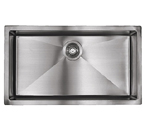 Sonetto S1090U 1000 Series Zero Radius Undermount Single Bowl Stainless Steel Sink