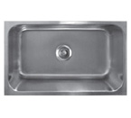 Sonetto S190U Undermount Single Bowl Stainless Steel Sink