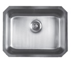 Sonetto S60U Undermount Single Bowl Stainless Steel Sink