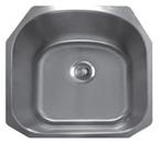 Sonetto S88U Undermount Single Bowl Stainless Steel Sink