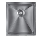Sonetto S950U Single Bowl 900 Series Zero Radius Stainless Steel Sink