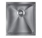 Sonetto S950U Single Bowl 900 Series Zero Radius Stainless Steel Sink