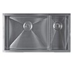 Sonetto S983U Double Bowl 900 Series Zero Radius Stainless Steel Sink