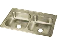 ELKAY 33X22 Dayton 3H Select SINK STAINLESS KJ233223