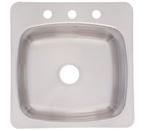 Franke USA SL103BX Topmount Laundry Utility Stainless Steel Sink