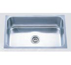 Pelican PL-868 16 Gauge Single Bowl Platinum Series Stainless Steel Sink
