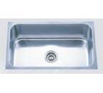 Pelican PL-868 16 Gauge Single Bowl Platinum Series Stainless Steel Sink